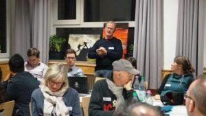 Herbert Schnalle dankt den Mitgliedern. Nach 37 Jahren endet für ihn Anfang nächsten Jahres seine Tätigkeit bei der djoNRW (Quelle: djoNRW)