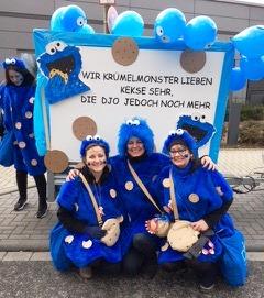 Im Merksteiner Straßenkarneval hat die djo ihren festen Platz (Quelle DJO Merkstein)