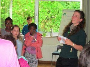 Nachhaltigkeit ist ein wichtiges Thema und auch die jüngeren zeigen, dass sie schon viel dazu wissen (Quelle: djoNRW)