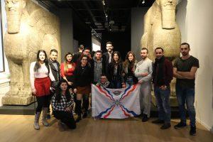 Die Jugendlichen des AJM LV NRW machen sich mit der eigenen Geschichte vertraut (Quelle: LJR NRW)