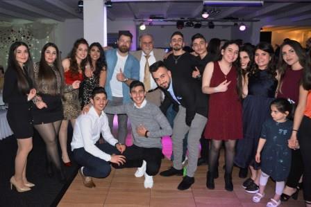 Die Stimmung beim assyrischen Neujahrsfest ist hervorragend  (Quelle: AJM LV NRW)